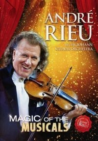 Cover André Rieu & The Johann Strauss Orchestra - Magic Of Musicals [DVD]